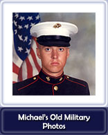 Michael's Old Military Photos Button