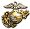U.S. Marine Corps Eagle/Globe/Anchor Emblem