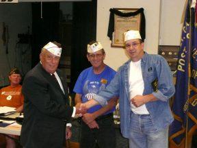 2010 07 13-01 White-Hats-for-Pat-Flanagan-and-John-Baumann