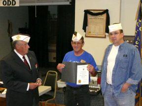 2010 07 13-02 White-Hats-for-Pat-Flanagan-and-John-Baumann