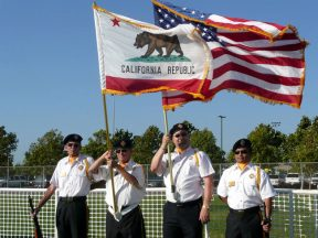 2010 08 04-01 VFW-Honor-Guard-at-Softball-Championships