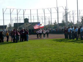 2010 08 04-02 VFW-Honor-Guard-at-Softball-Championships