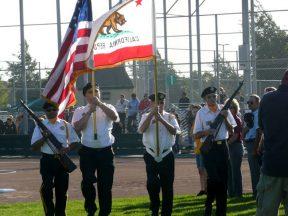 2010 08 04-03 VFW-Honor-Guard-at-Softball-Championships