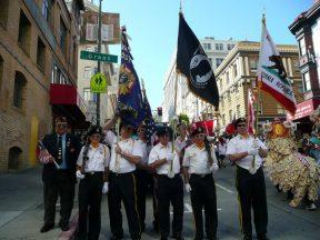 2010 10 10-01 Taiwan-Parade-in-SF-VFW-Honor-Guard