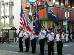 2010 10 10-02 Taiwan-Parade-in-SF-VFW-Honor-Guard