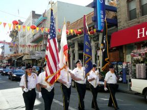 2010 10 10-03 Taiwan-Parade-in-SF-VFW-Honor-Guard