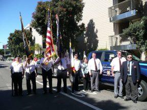 2010 10 10 Italian-Parade-in-SF-VFW-Honor-Guard 01