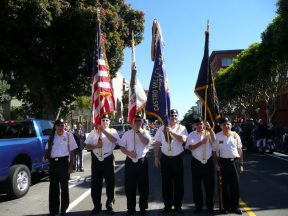 2010 10 10 Italian-Parade-in-SF-VFW-Honor-Guard 03