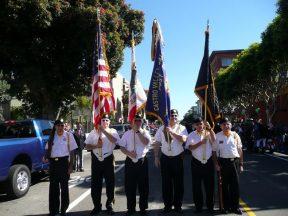 2010 10 10 Italian-Parade-in-SF-VFW-Honor-Guard 03