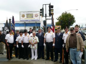 2010 10 30-02 VFW-AmLegion-BillBoard-Dedication-Castro-Valley