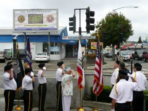 2010 10 30-03 VFW-AmLegion-BillBoard-Dedication-Castro-Valley