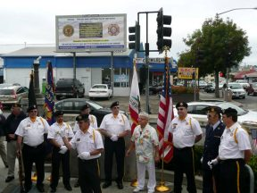 2010 10 30-05 VFW-AmLegion-BillBoard-Dedication-Castro-Valley