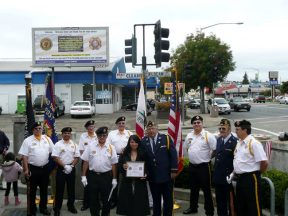 2010 10 30-06 VFW-AmLegion-BillBoard-Dedication-Castro-Valley
