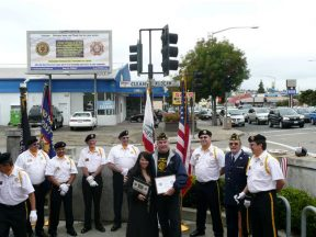 2010 10 30-07 VFW-AmLegion-BillBoard-Dedication-Castro-Valley