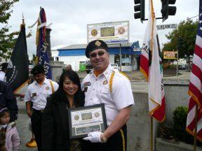 2010 10 30-09 VFW-AmLegion-BillBoard-Dedication-Castro-Valley