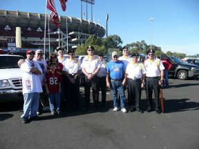 2010 11 14-01 VFW-Honor-Guard-49ersGame