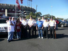 2010 11 14-01 VFW-Honor-Guard-49ersGame