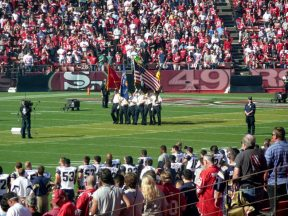 2010 11 14-04 VFW-Honor-Guard-49ersGame