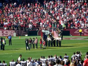 2010 11 14-06 VFW-Honor-Guard-49ersGame