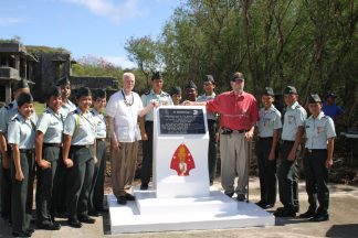 2011-07-01-Emerson_s_WWII_Tinian_Memorial