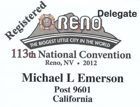 2012 07 21-01 Michael_s VFW Convention Name Tag