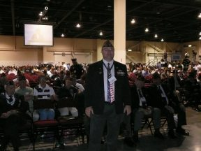 2012 07 21-04 Michael at VFW Convention in Reno