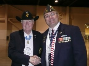2012 07 21-11 Medal of Honor Recipient Bruce Crandell VFW Convention in Reno