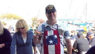 2012 09 29-01 Wheelchair Regatta - Volunteer Michael Emerson