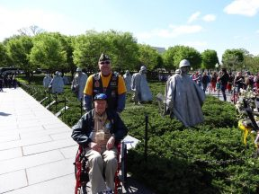2013 04 20j-Honor Flight NorCal Korean Memorial