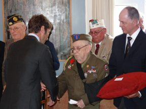 2013 05 08c-Henry Keyser-Army WWII-French Legion of Honor Medal