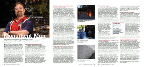 2013 05 American Legion Magazine Article