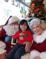 2013-12-8 - Jocelynn & Santa