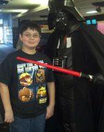 2013-01-26 - Nickolas & Darth Vader