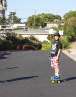 2013-07-22 - Tyler & Nick on Long Boards