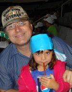 2013-06-8 - Papa & Jocelynn at SaberCats