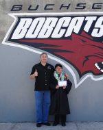 2013-June - Papa & Nick at Buchser Middle School Graduation