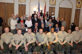 2014 02 27b Marines Memorial Association-Iwo Jima Luncheon in San Francisco