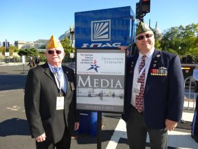 2014 10 05d-Disabled Veterans Memorial Dedication with Larry Via