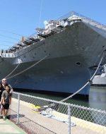 2014-April-13 - Nick, Michael, Tyler at USS Hornet