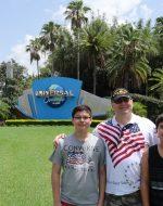 2015-06-29 - Nick C Papa Tyler Universal Studios Florida
