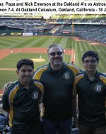 2016-July-18 - Emersons at A's vs