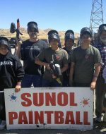 2016-July-24 - Paint Ball in Sunol, CA