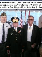 2017-10-21-With-3-Medal-of-Honor-recipients-at-MOH-Woody-Williams-ship-christening