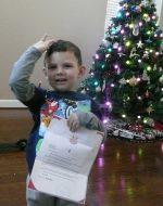 2017-Dec - Letter from Santa b