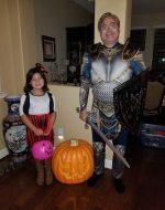 2017-Oct-31 - Jocelynn & Papa Halloween