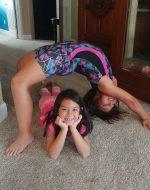 2018-Aug-16 - Jocelynn & Leah Gymnastics