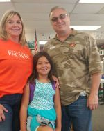 2018-Aug-22 - Papa's 1st Day of volunteering in Jocelynn's class