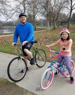 2018-Jan-14 - Bike Riding in Oak Grove Park