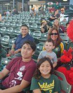 2018-July-21 - Emerson Family at Stockton Ports Game