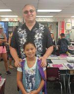 2018-July-31 - 1st day of 3rd Grade for Jocelynn